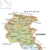Cartina Friuli Venezia Giulia