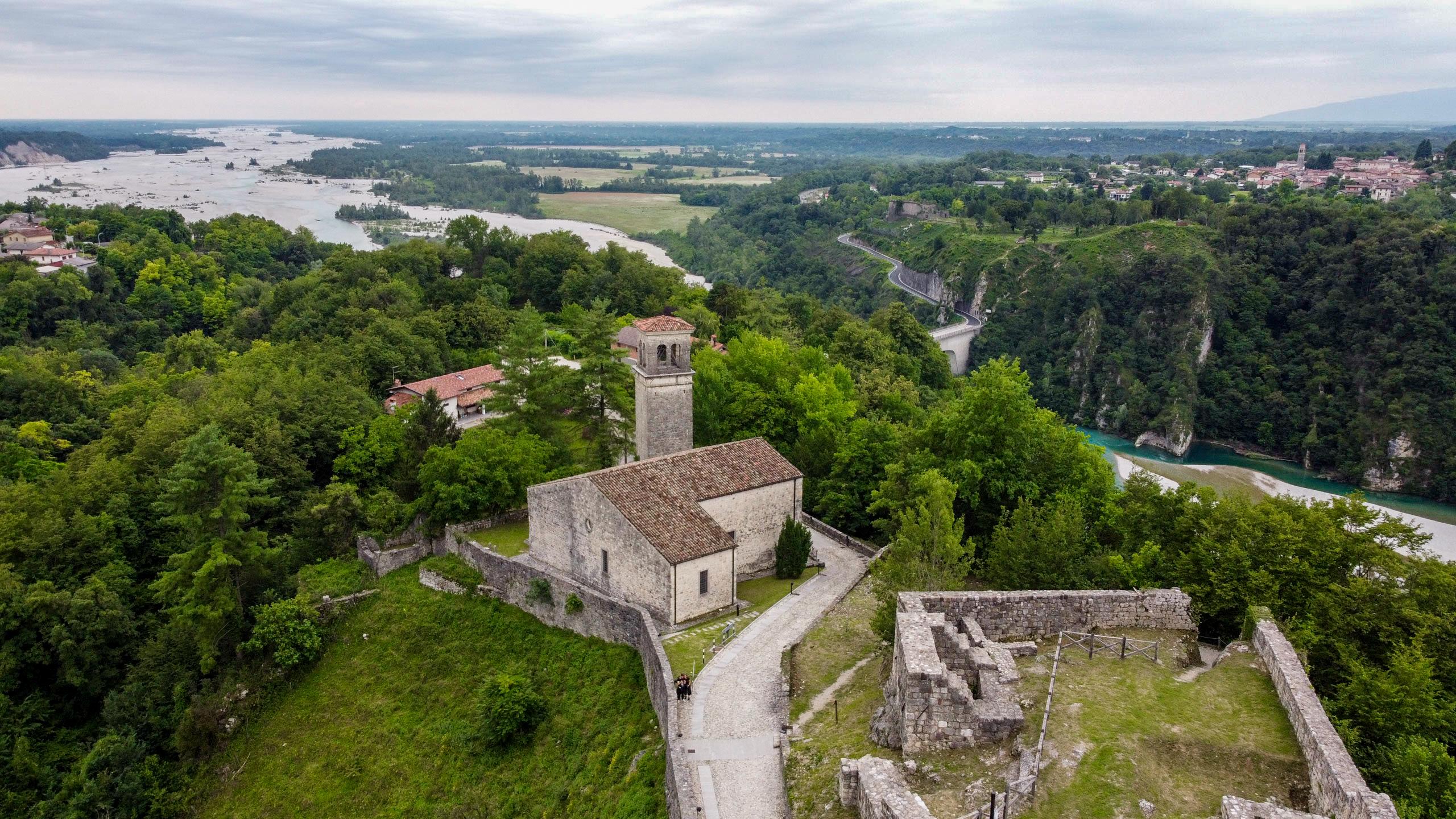 L'antica Pieve del Castello di Ragogna