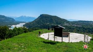 Area pic-nic al Castello di Pinzano al Tagliamento