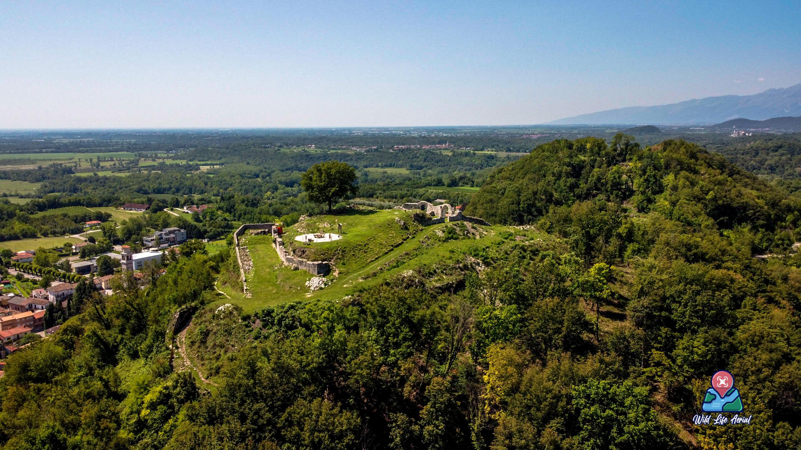 Ruderi del Castello di Pinzano - Pinzano al Tagliamento