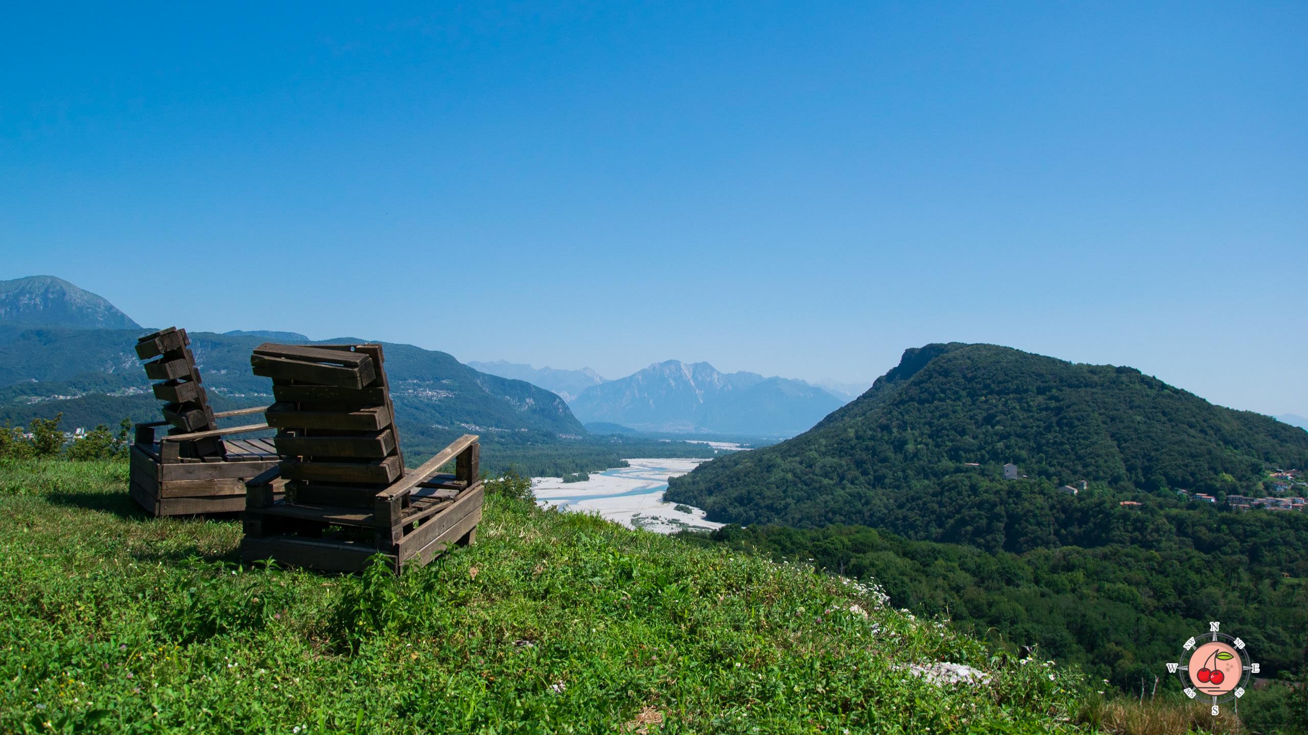 Terrazza panoramica - Pinzano al Tagliamento