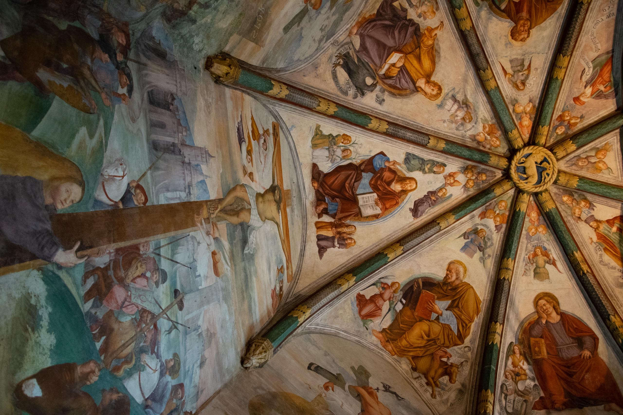 Interno della Chiesa Sant'Antonio Abate - San Daniele