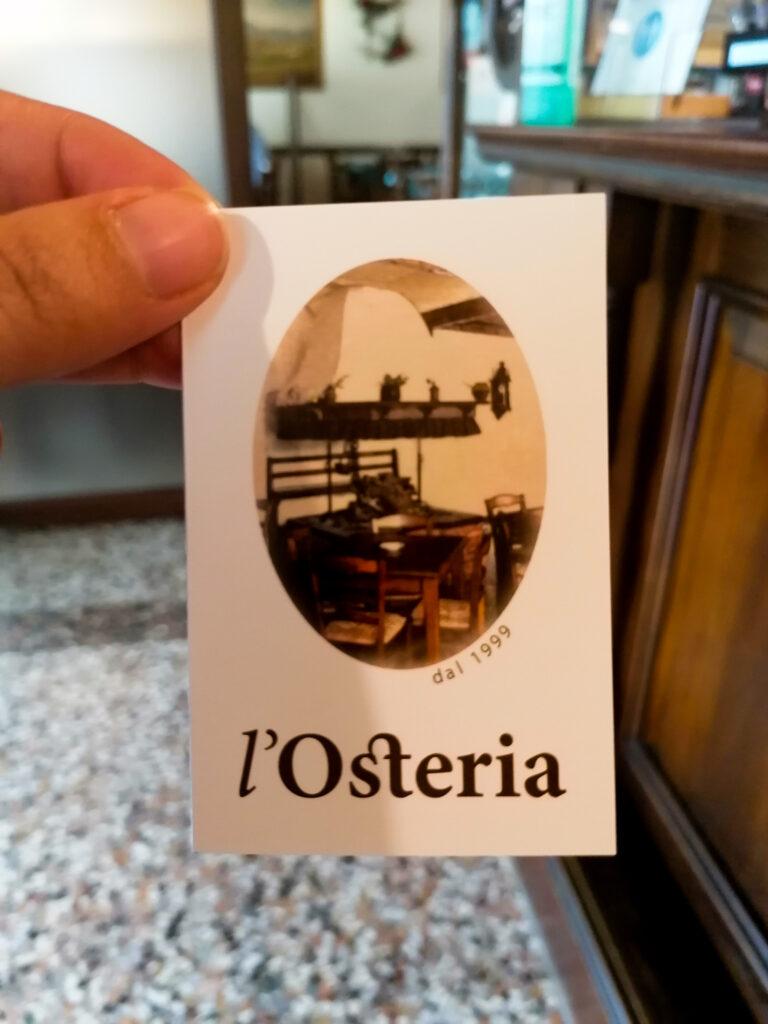 L'Osteria - San Daniele del Friuli