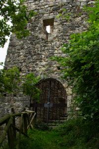 Antico portale d'ingresso del Castello di Ragogna