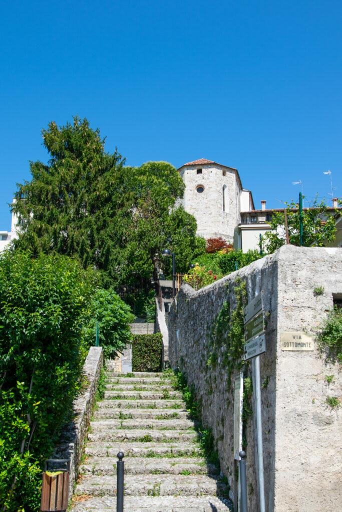 Scalinata panoramica - San Daniele del Friuli