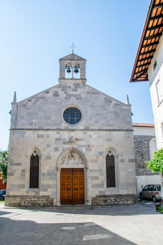 Chiesa tardo-gotica di Madonna della Fratta - San Daniele del Friuli