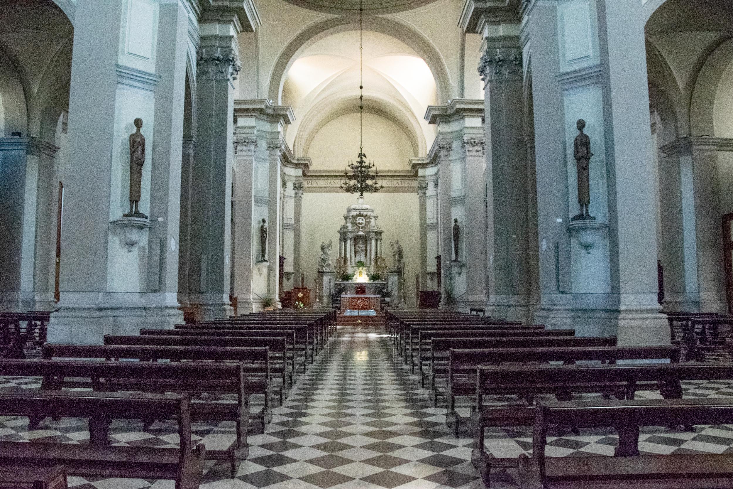 Interno del Duomo di San Michele Arcangelo - San Daniele del Friuli