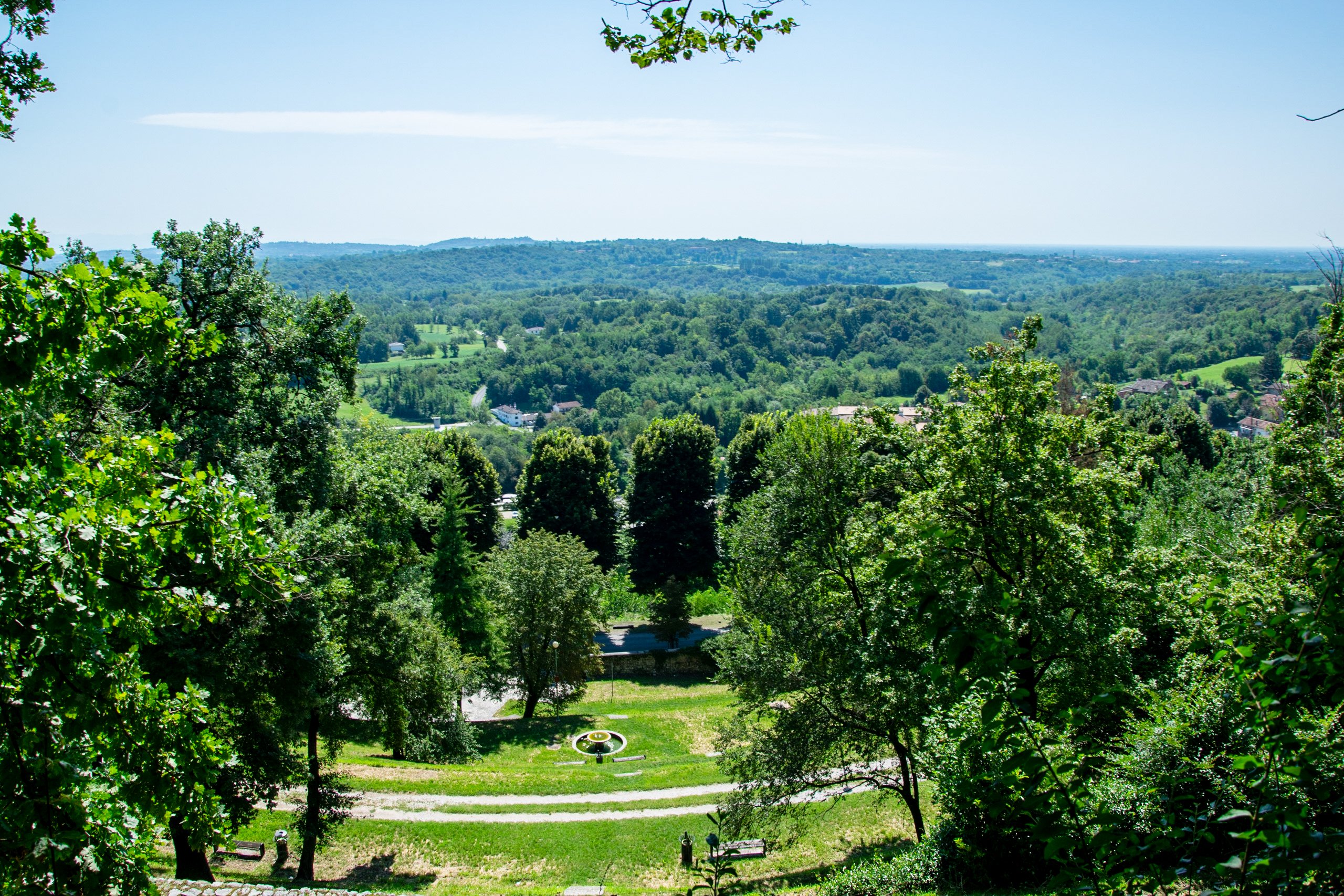 vista dal parco - San Daniele del Friuli