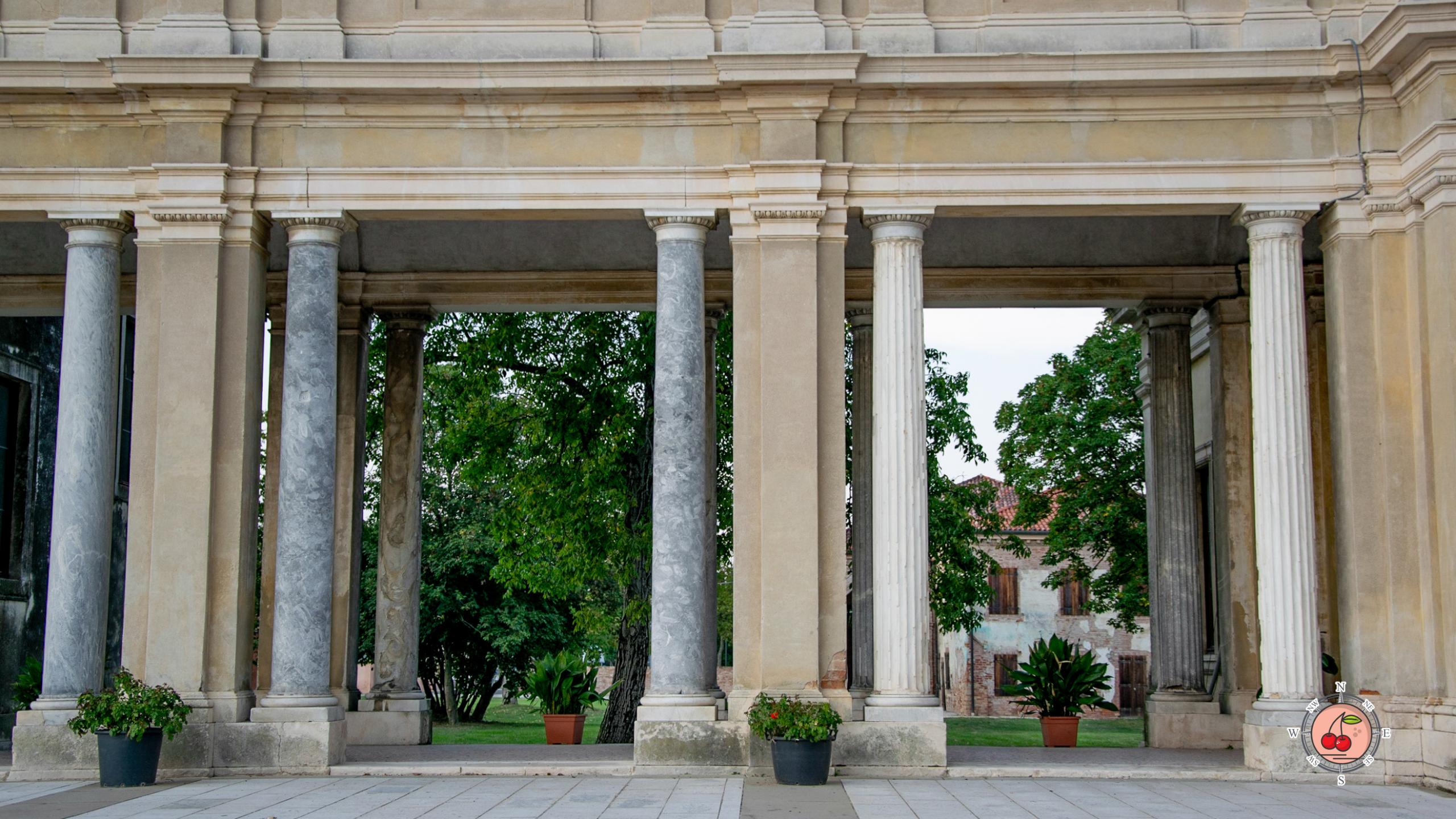 Colonne antiche di Villa Farsetti a Santa Maria di Sala