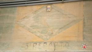 Decorazioni parietali sala ricovero di Villa Farsetti - Santa Maria di Sala
