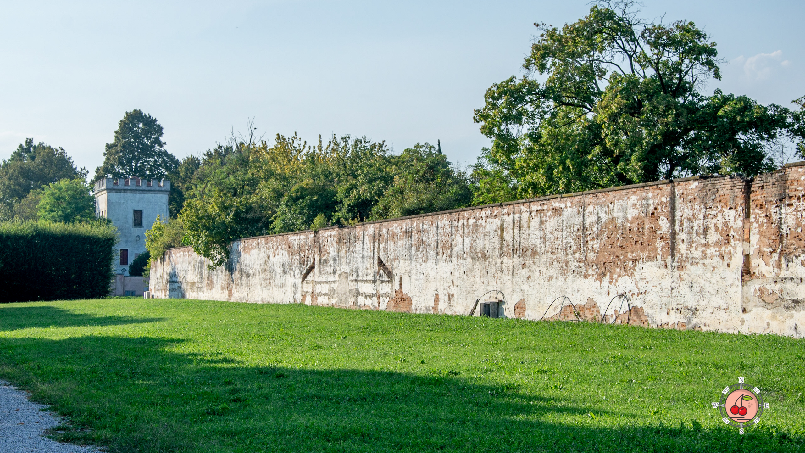 Vecchie serre e Torre di Villa Farsetti - Santa Maria di Sala