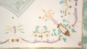 Decorazioni parietali sala della musica di Villa Farsetti - Santa Maria di Sala