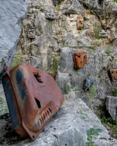 Cava abitata - Cave di Rubbio