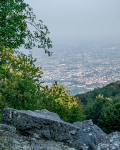 Panorama dalle Cave di Rubbio