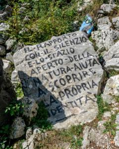 Cava disegnata - Cave di Rubbio