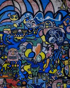 Murales a Fiera di Primiero