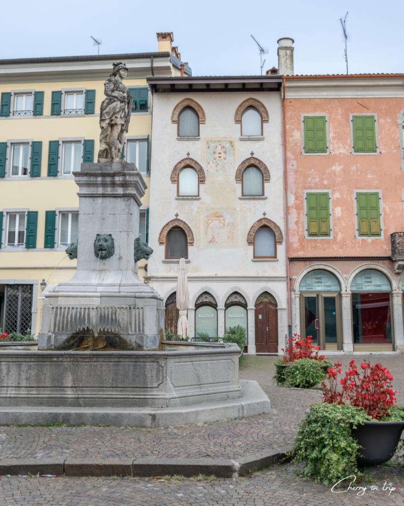 Piazza Diacono a Cividale del Friuli