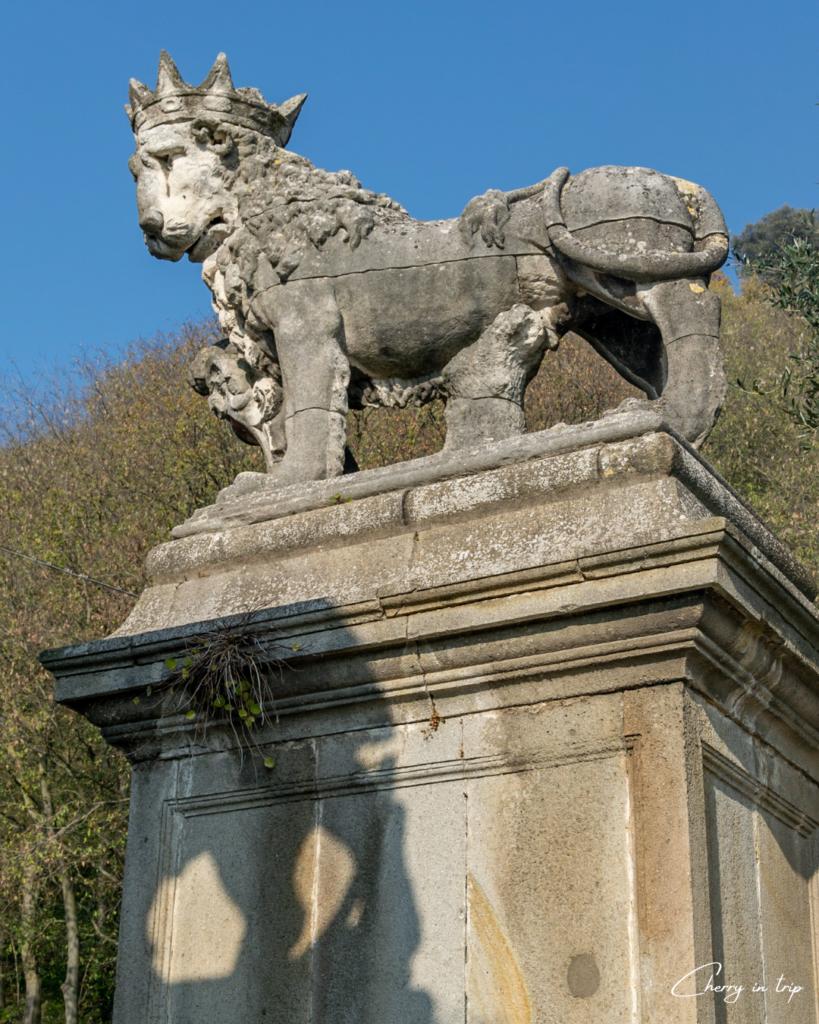 Torre con Leone incoronato - Monselice