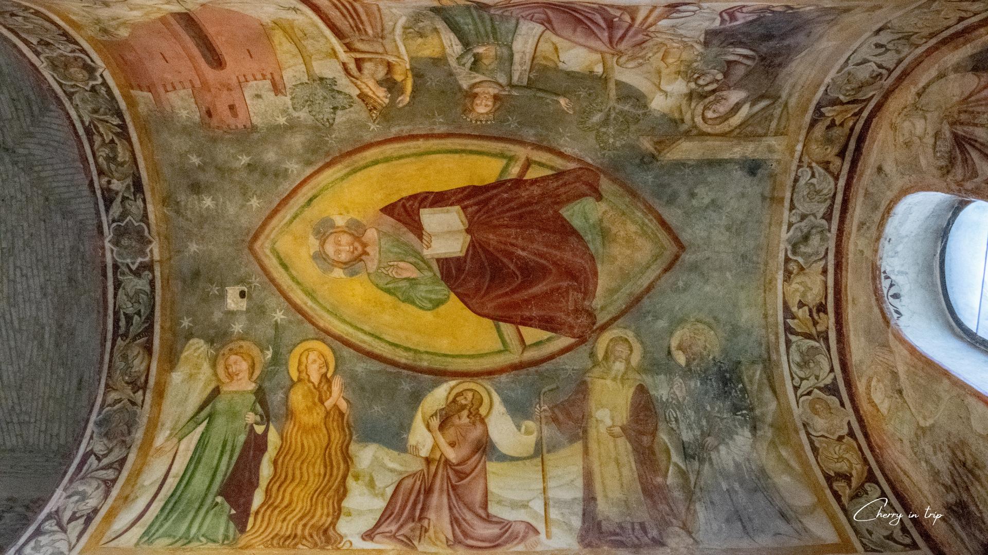 Affresco del Tempietto Longobardo - Cividale del Friuli