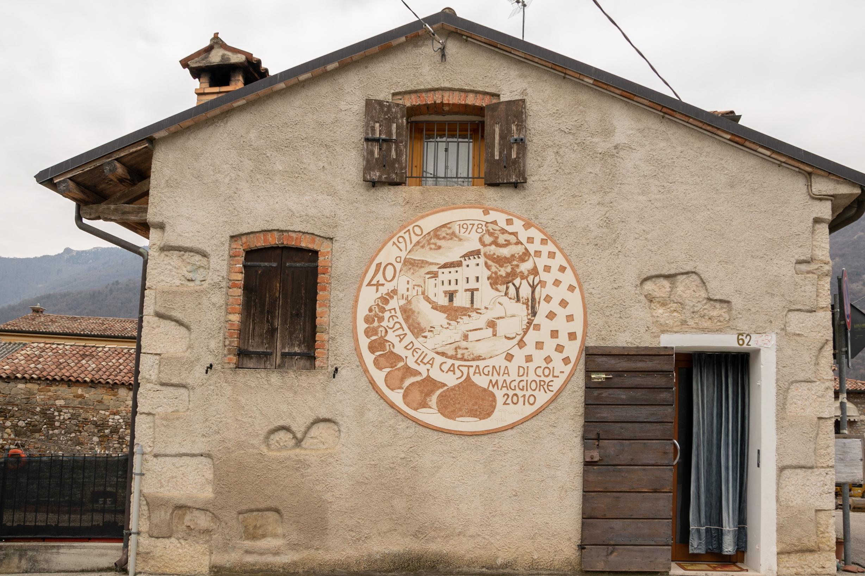 Murales Colmaggiore: Festa della castagna