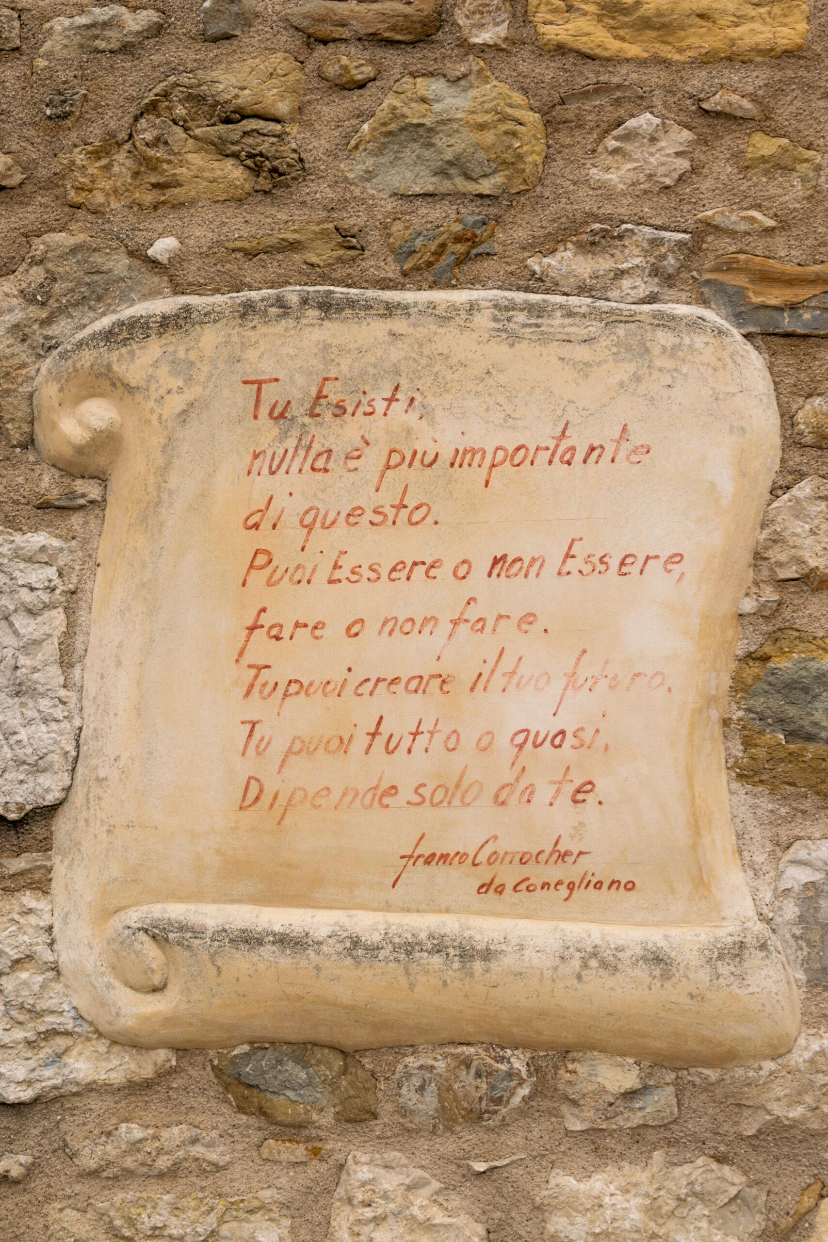 Scritta Murales di Colmaggiore