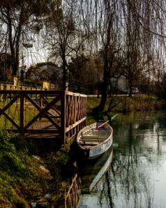 Canoa sulla Restera (Treviso)