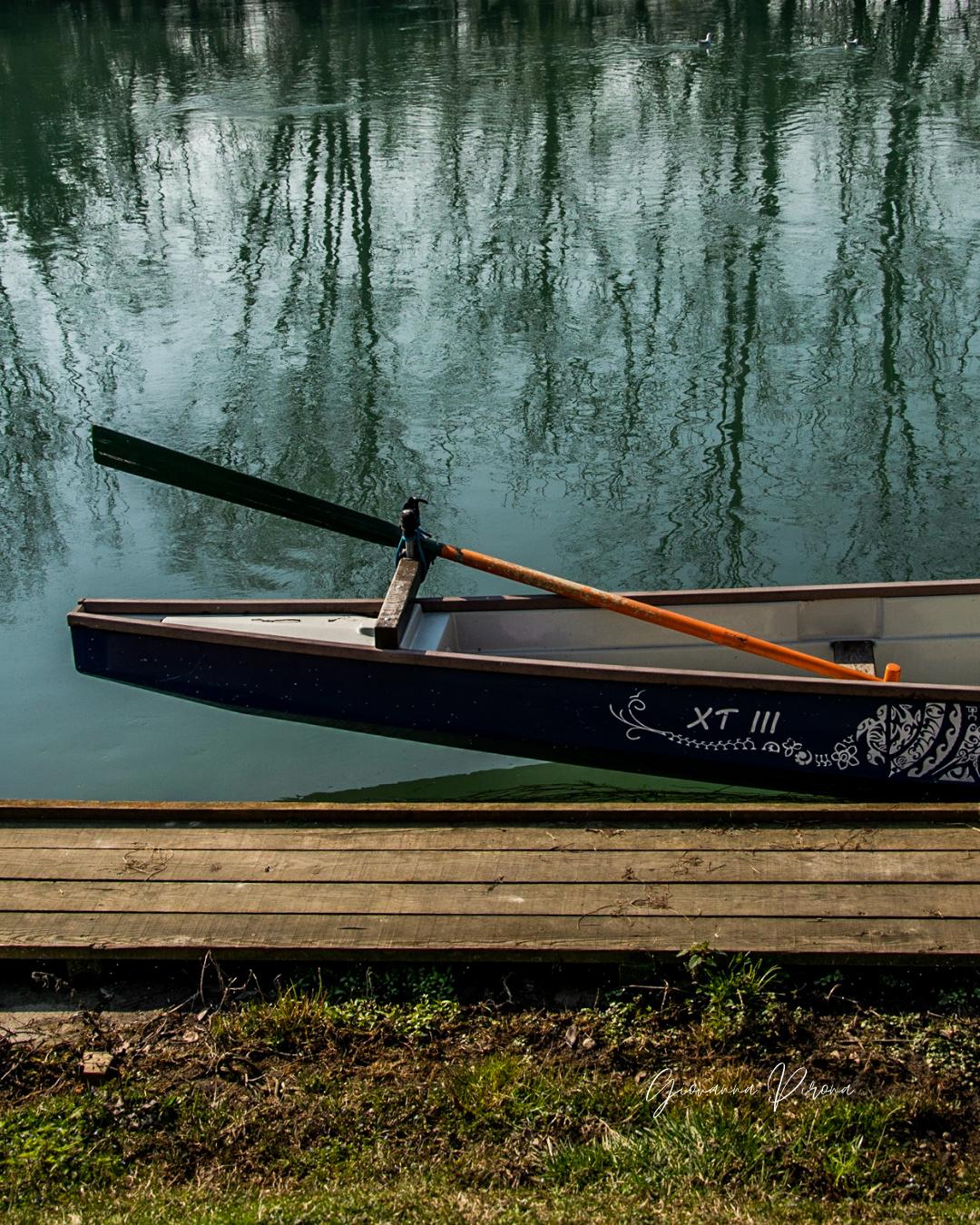 Canoa sulla Restera