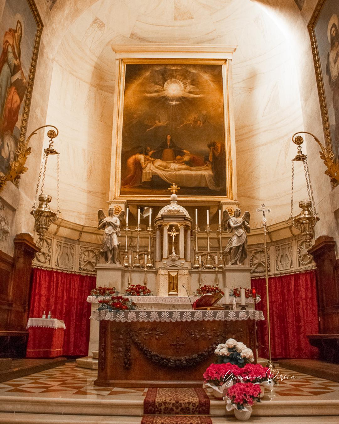Altare maggiore del Tempio di Canova a Possagno