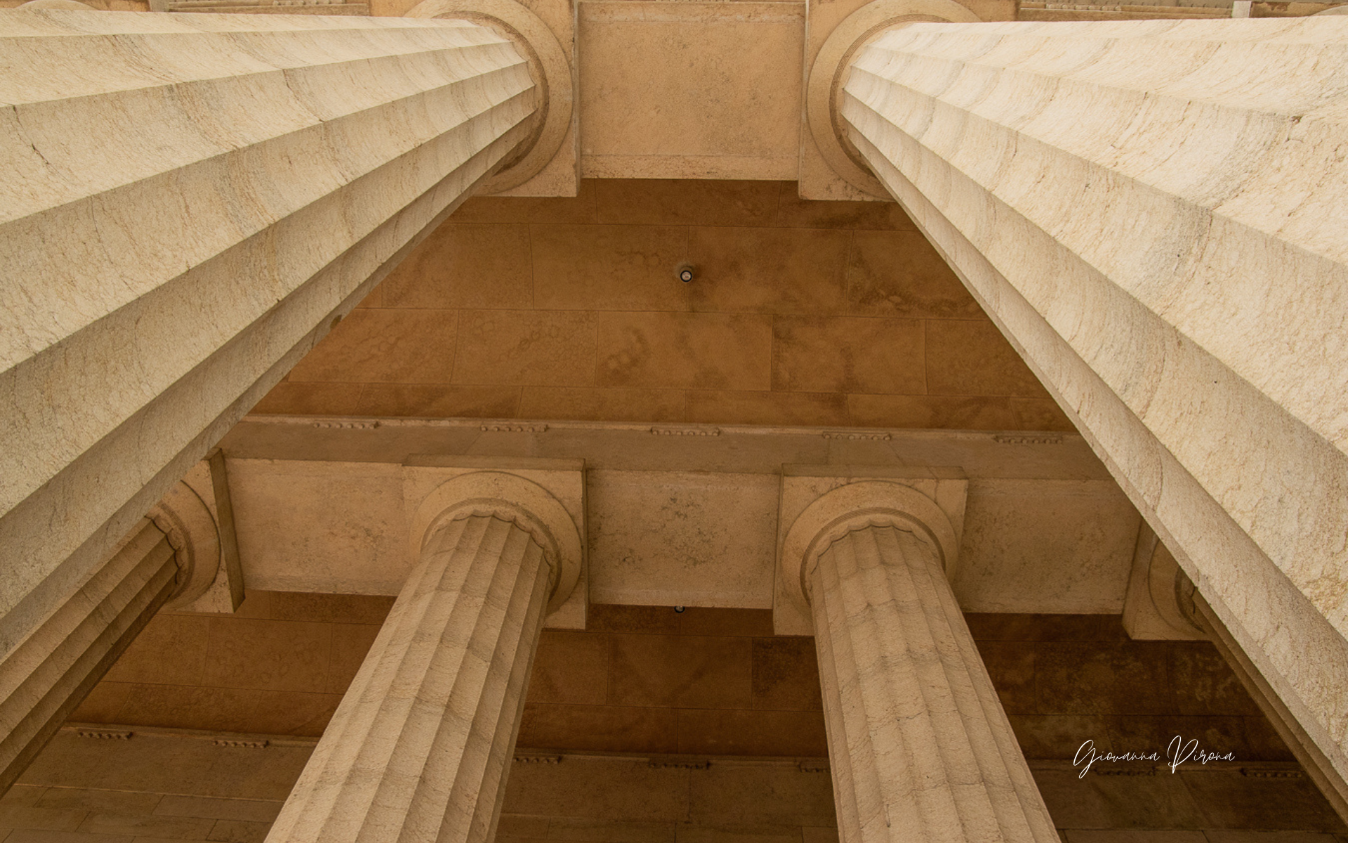 Colonne del Tempio di Canova a Possagno