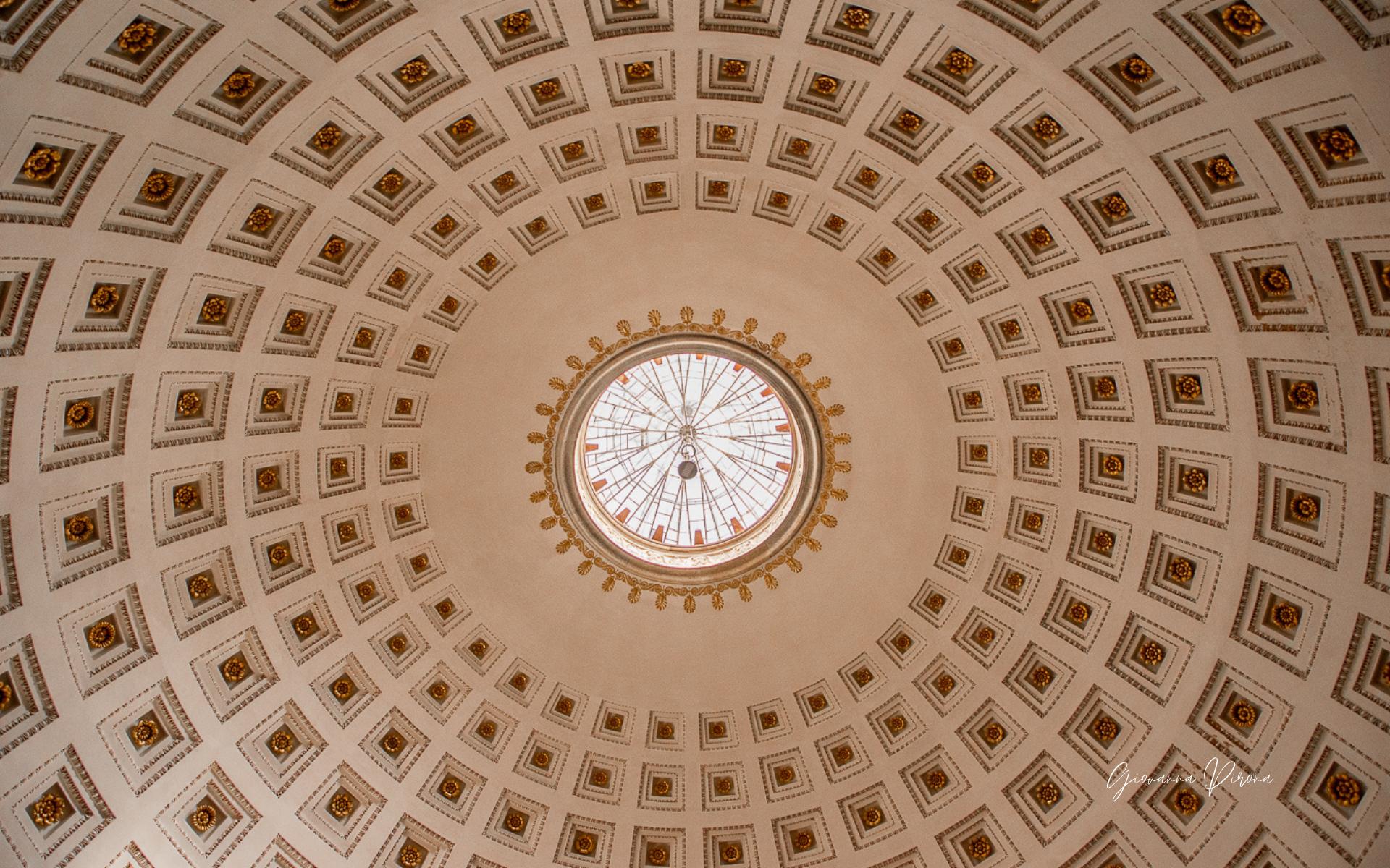 Cupola del Tempio di Canova a Possagno (TV)